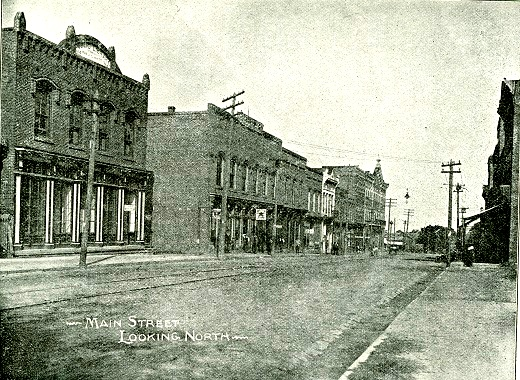 The H.H. White Building shortly after construction.