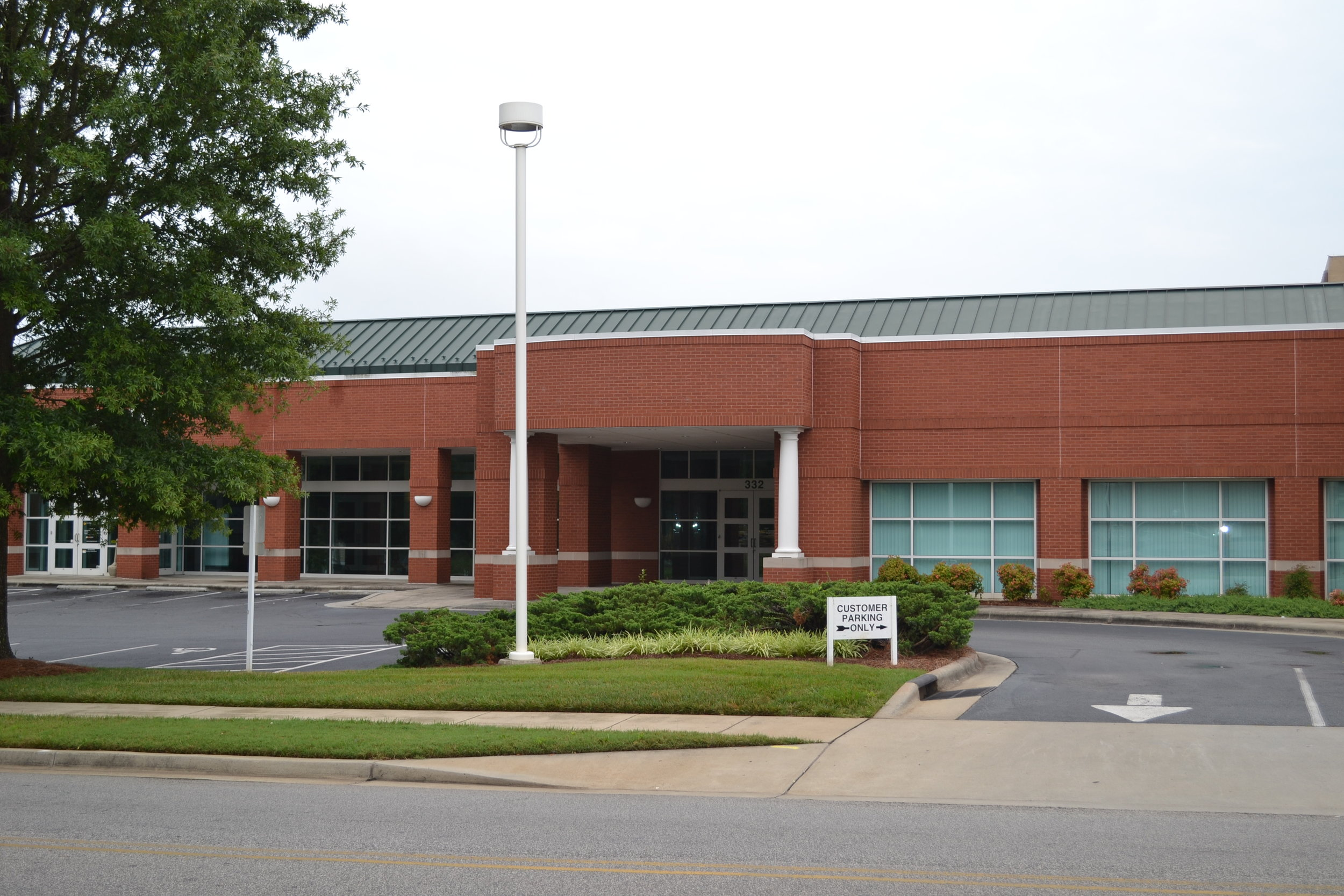 Current location of the Friends of the York County Library