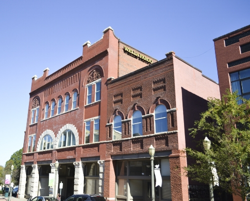 113 East Main Street today houses Wells Fargo and numerous other businesses