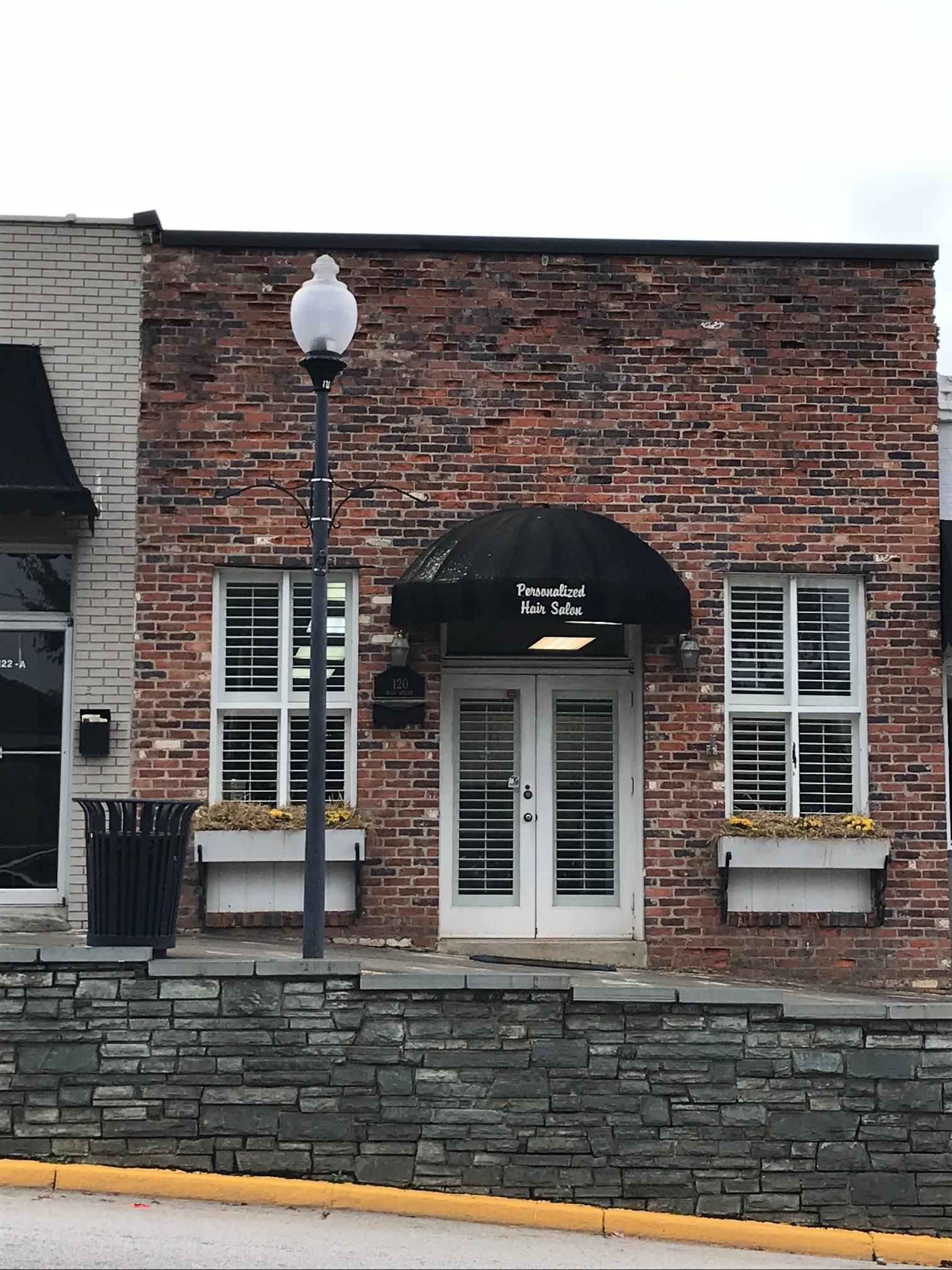 120 Main Street in 2017 - Personalized Hair Salon