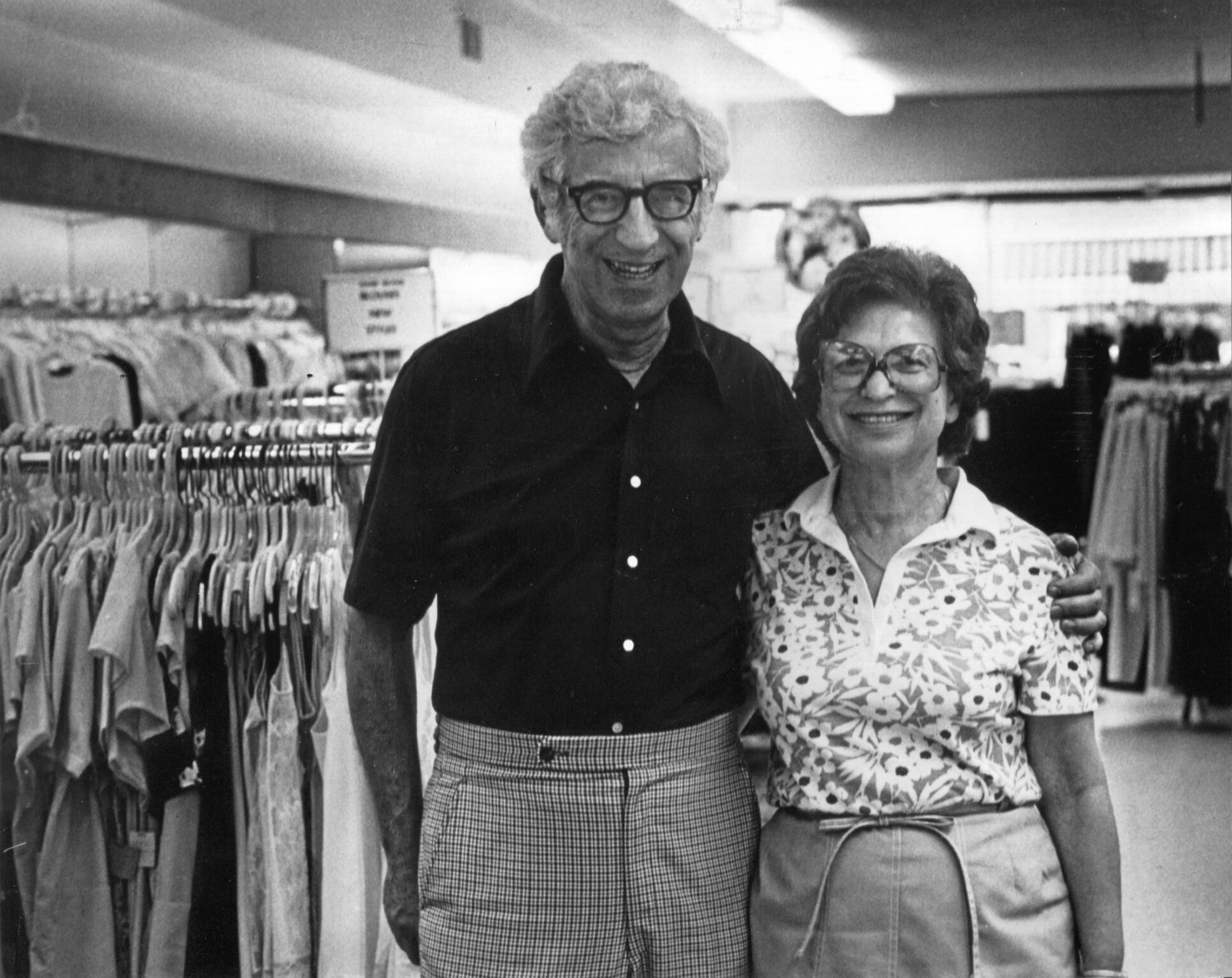 George and Sarah Ackerman