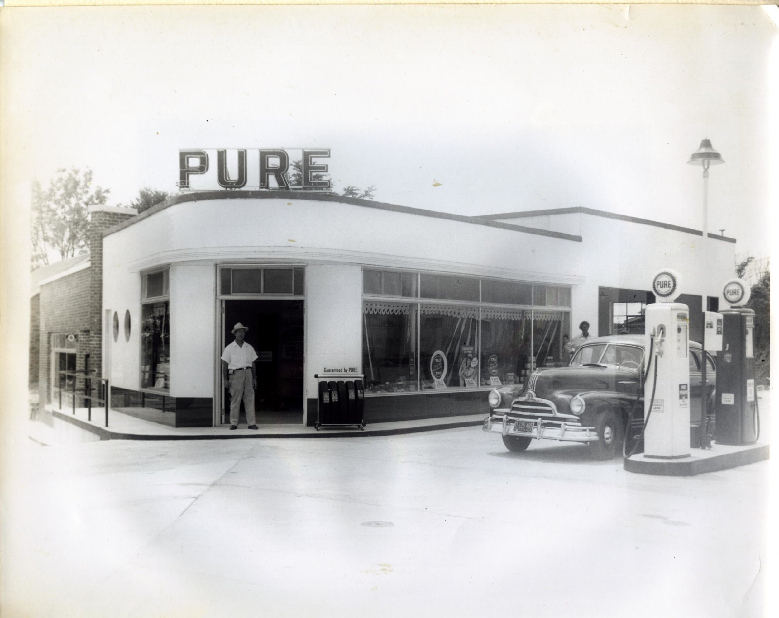 240 Main Street when it was Pure Gasoline Station
