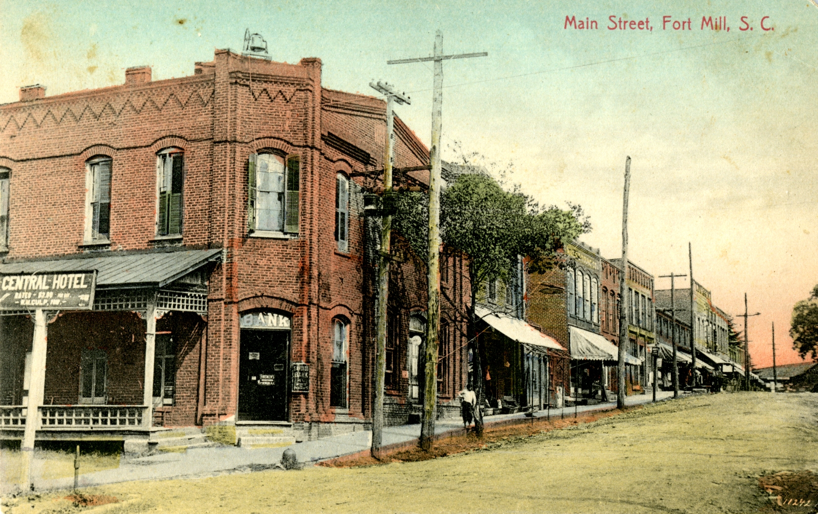Postcard courtesy of Fort Mill History Museum