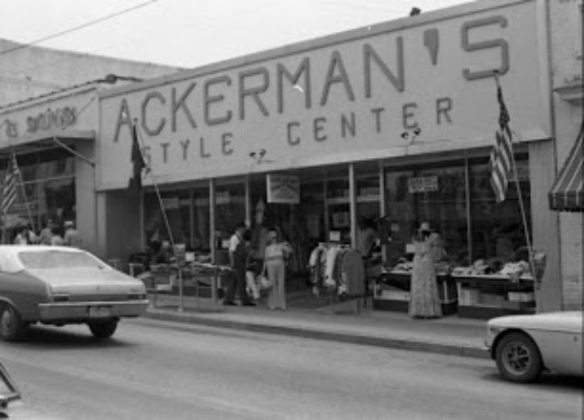 212 Main Street when it was Ackerman's