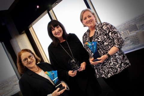 Beth Duke, Coco Duckworth, Jan Barker - 2018 Career & Lifetime Achievement