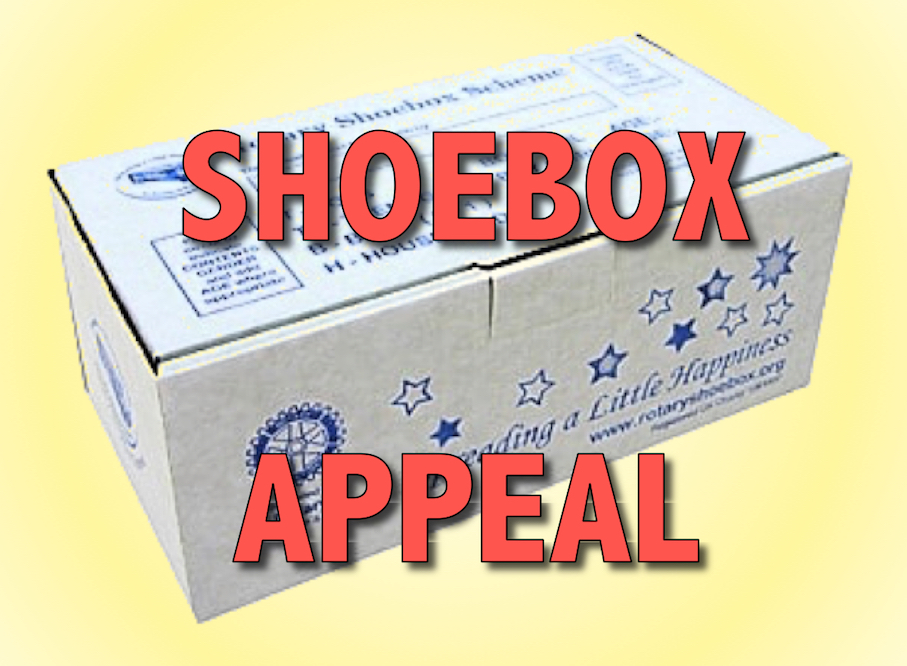 These 'gift' shoeboxes will be sent far and wide across the world to people who, through no fault of their own, have nothing and are in need.