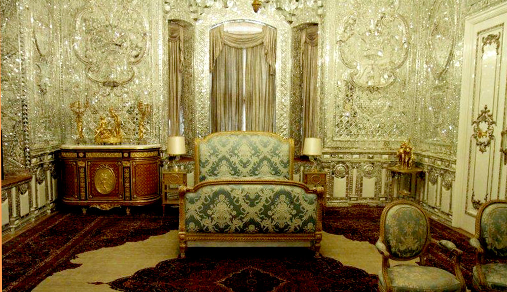 Figure 2 : Shah's Bedroom (Iran News Agency).