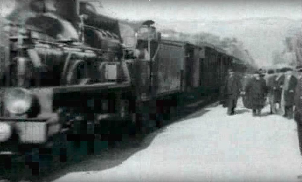 Figure 7 : Auguste and Louis Lumière, L'arrivée d'un train en gare de La Ciotat , 1895.