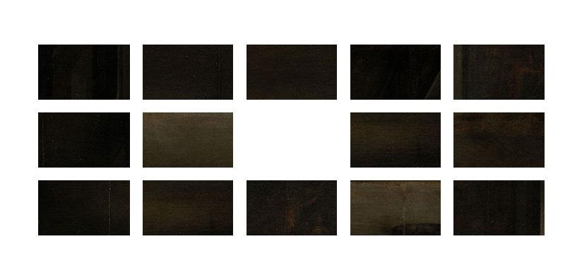"Vanishing Point  (2014) Tiled Digital Prints 25"" x 70"" or 7.5"" x 12.5"" each"