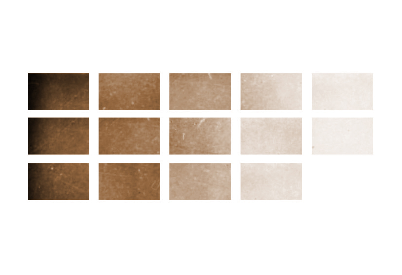 "Fatemi Ceiling   (2013) Tiled Digital Prints 25"" x 70"" or 7.5"" x 12.5"" each"