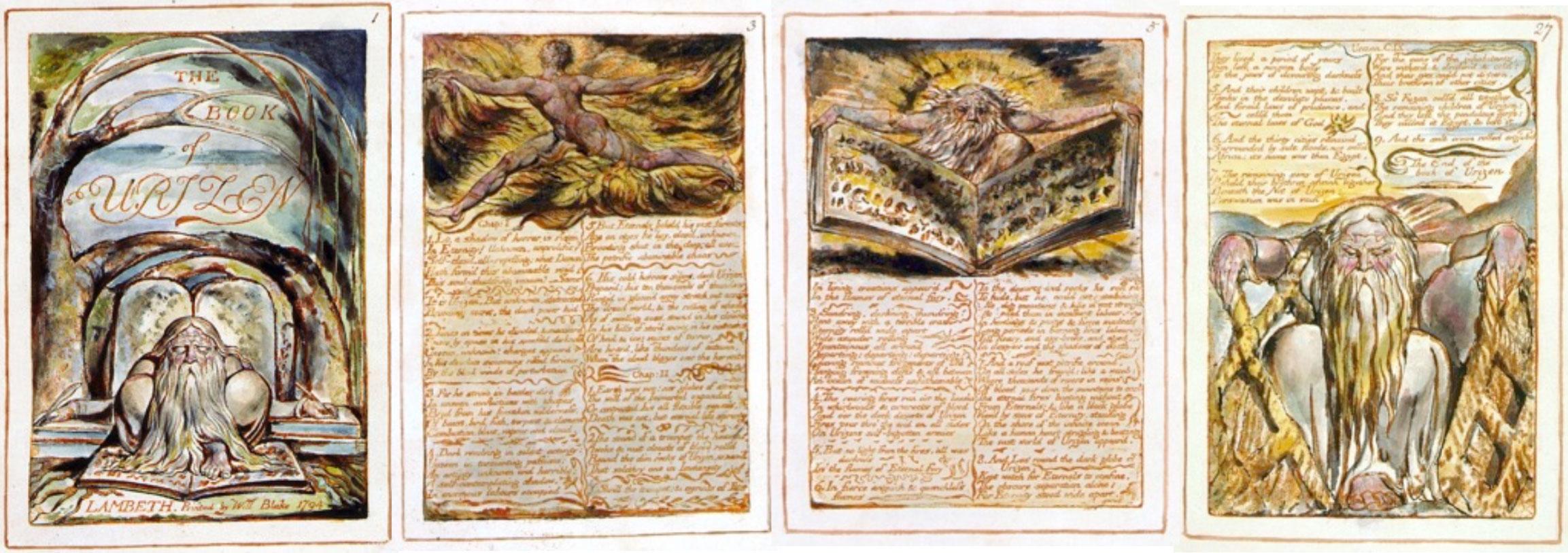 William Blake,  The Book of Urizen  (1794)