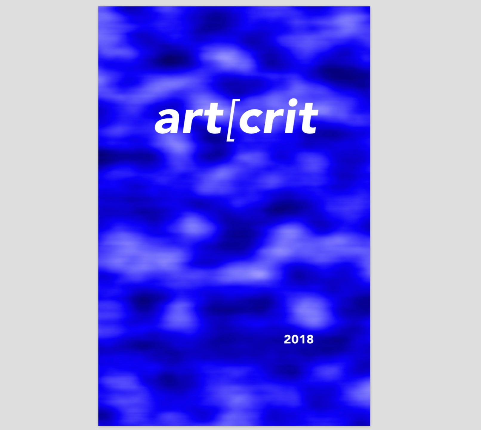 art[crit     booklet   of student writings, Saint Mary's College of California, Spring 2018