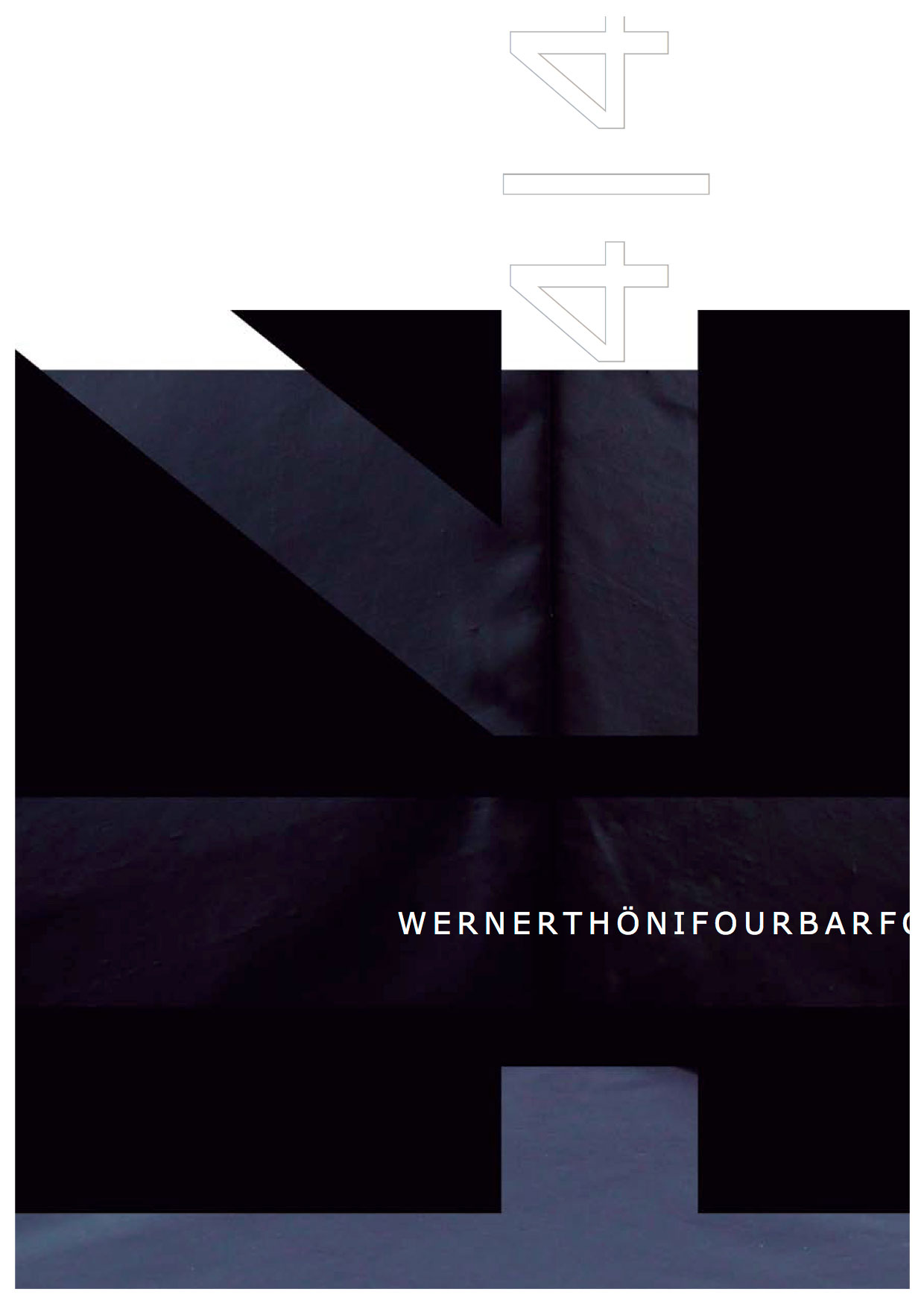 Cover of 4 4 booklet