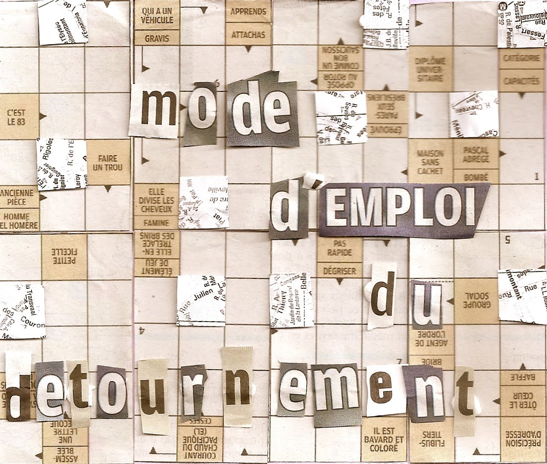 Cover image,  A User's Guide to Détournement