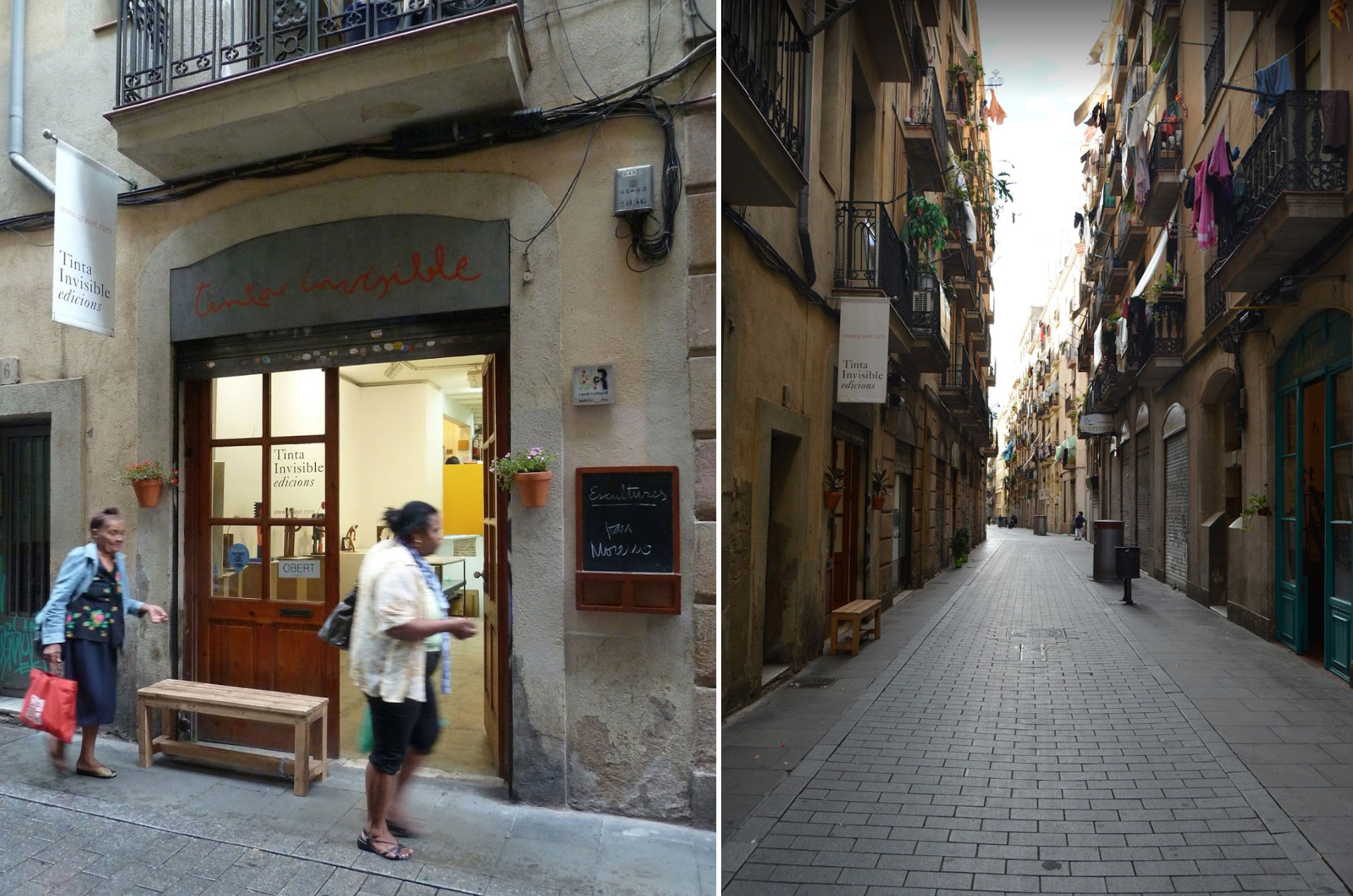 Tinta Invisible edicions , El Raval, Barcelona