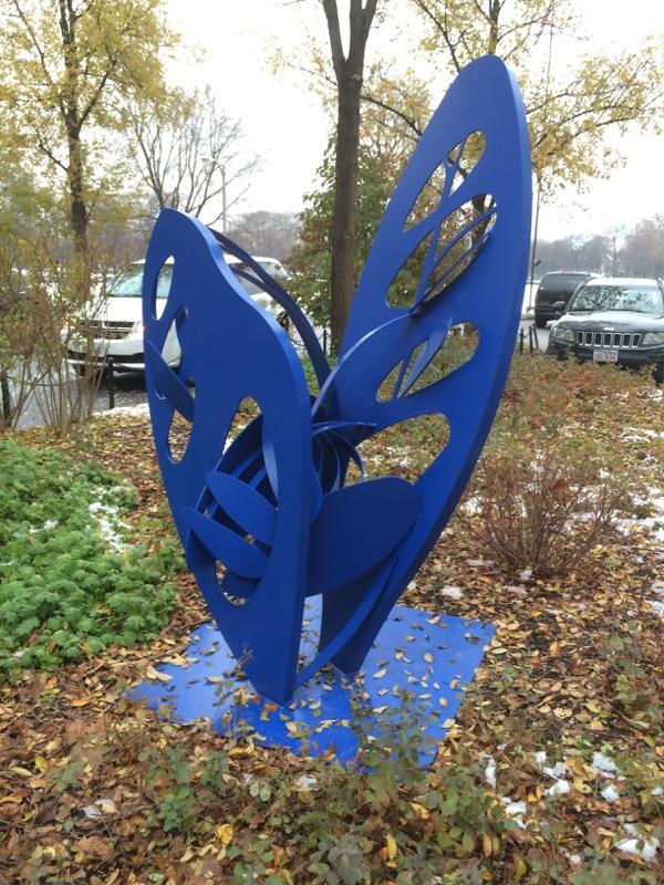 Hilde Debruyne - Wings of Change, Hamilton Park