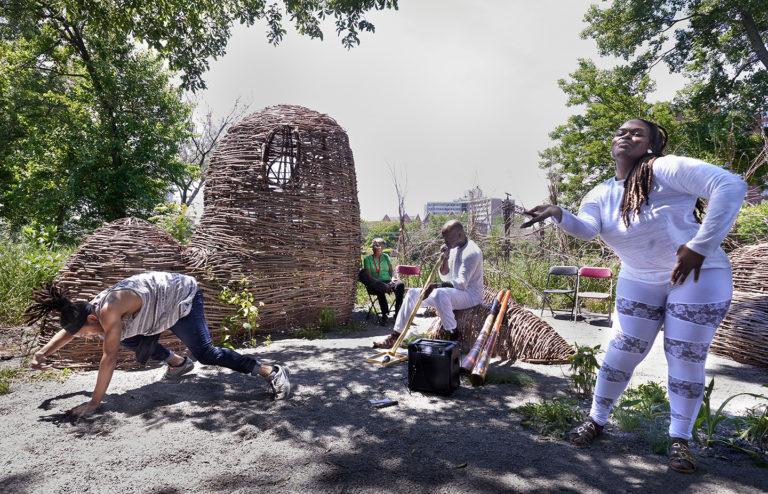 Opening Celebration at Sounding Bronzeville Gathering Space (Sandra Steinbrecher, 2016)