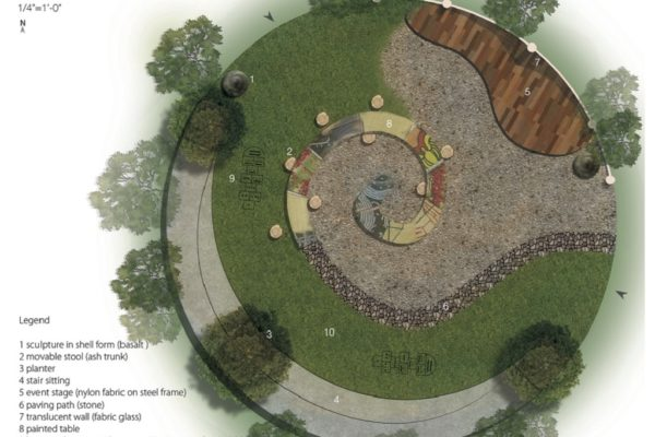Rendering of Caracol Gathering Space