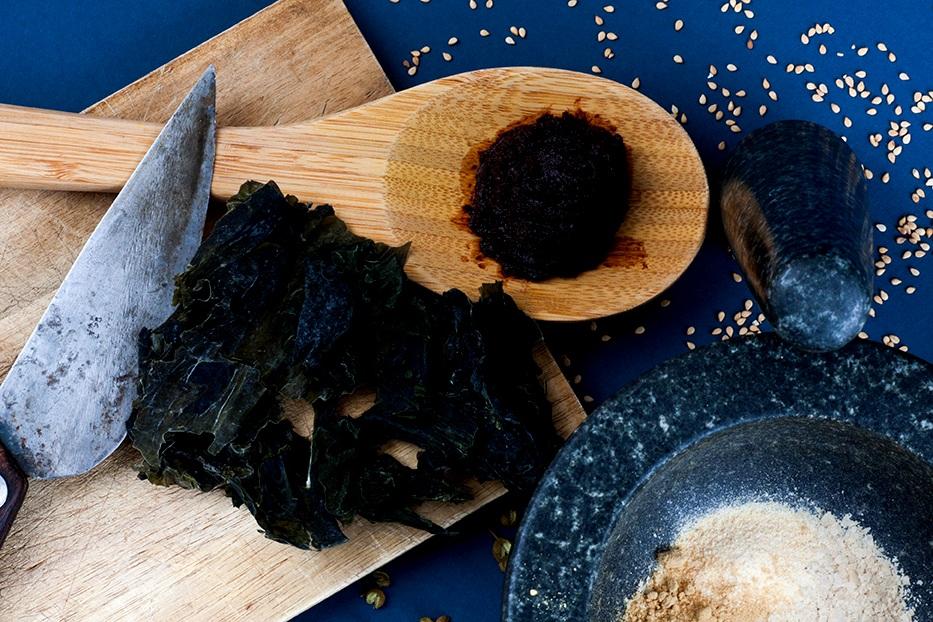 Baihu - Healthy Instant Noodle Ingredients