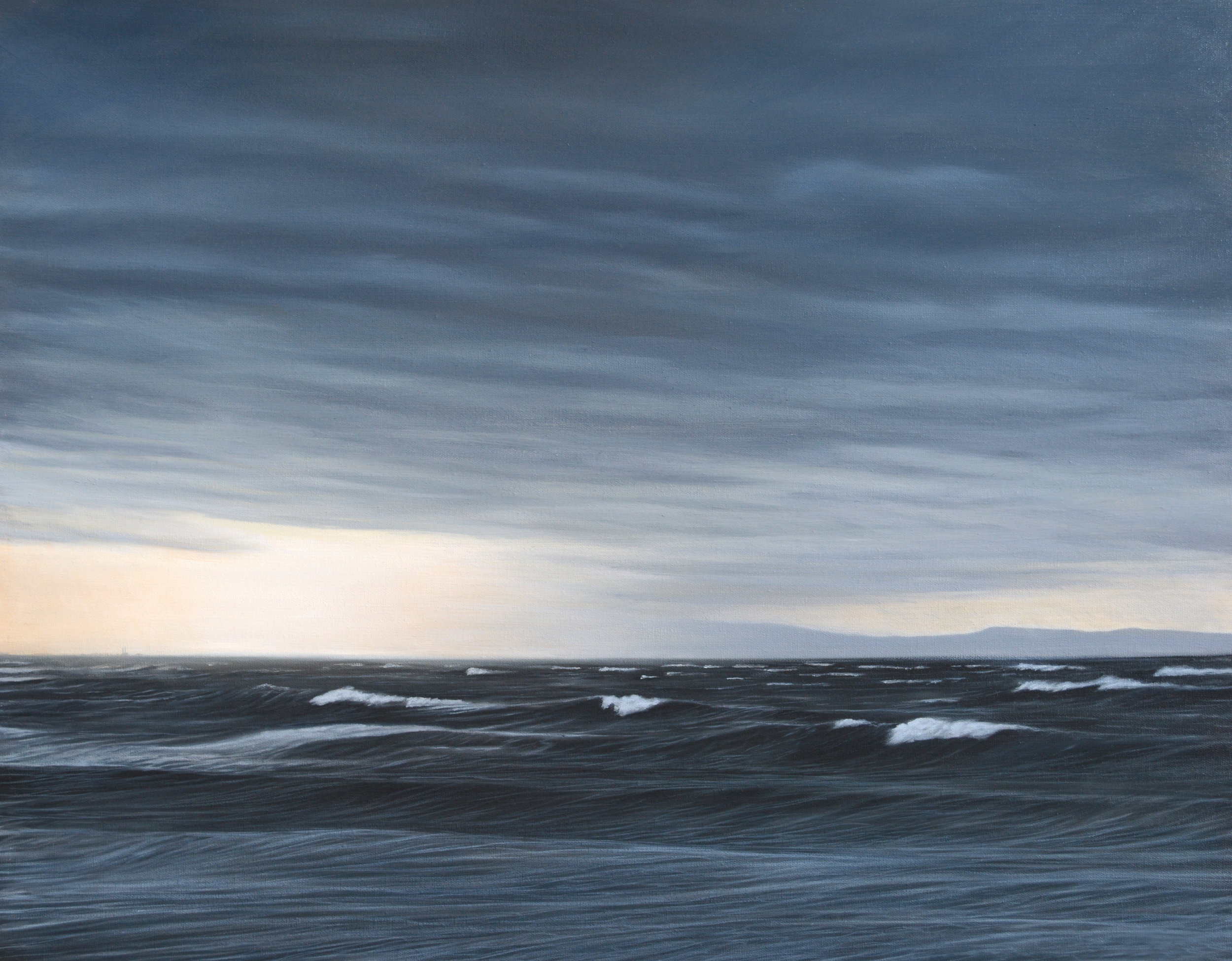 """50 Knots""   Oil on Canvas    22""x28""    Original-Sold    Prints Available"