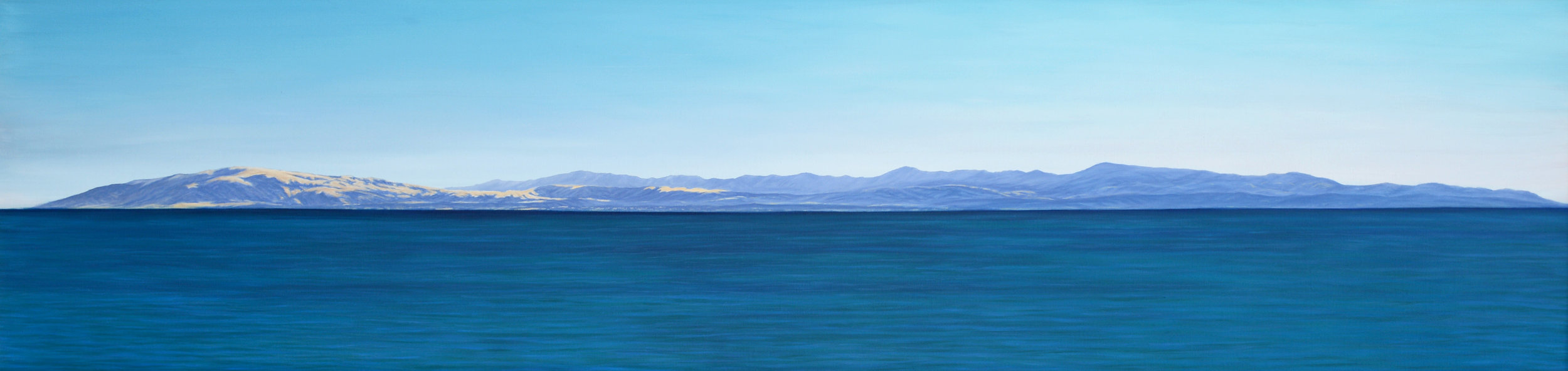 """Santa Lucia Range""   Oil on Canvas    18""x60""    Original-Sold    Prints Available"