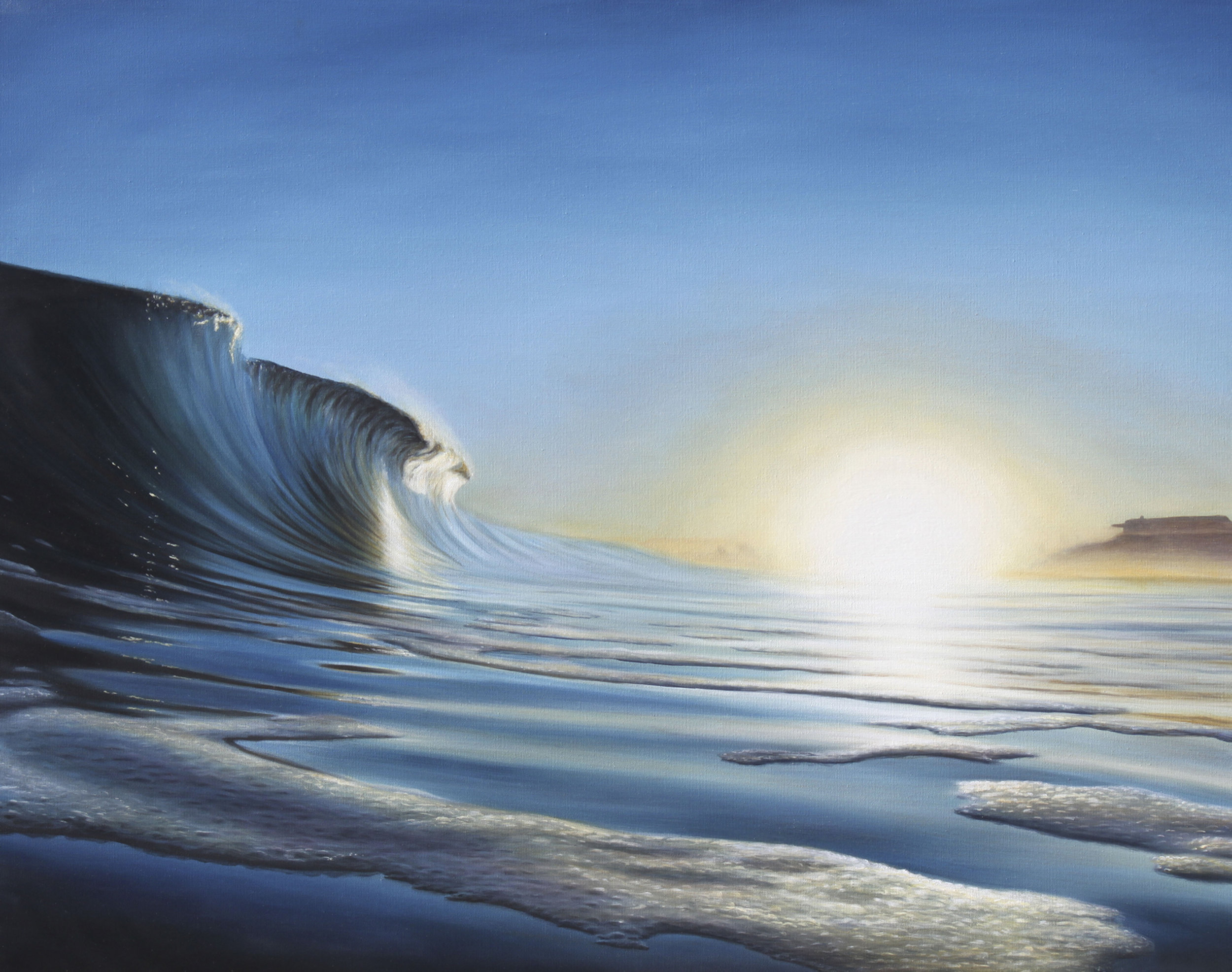 """Sea Foam""   Oil on Canvas    30""x40""    Original-Sold    Prints Available"