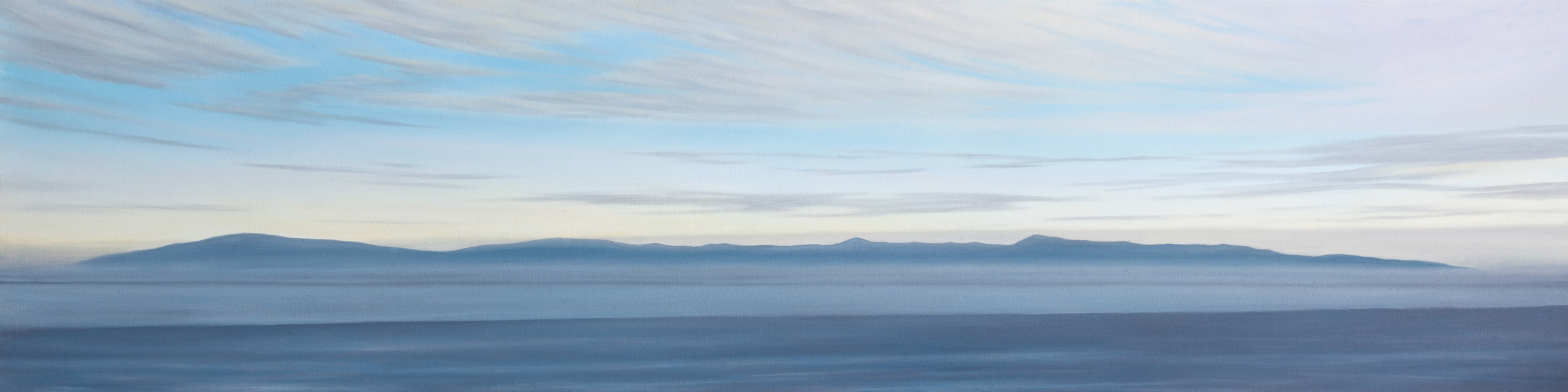 """Oil on Canvas    16""""x64""""    Original-Sold    Prints Available"""