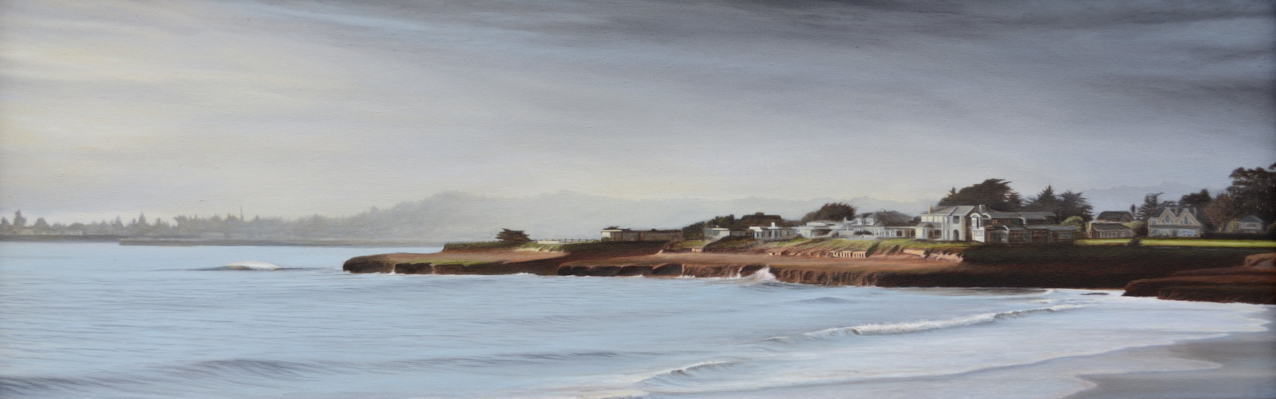 """Oil on Canvas    15""""x44""""    Original-Available    Prints Available"""