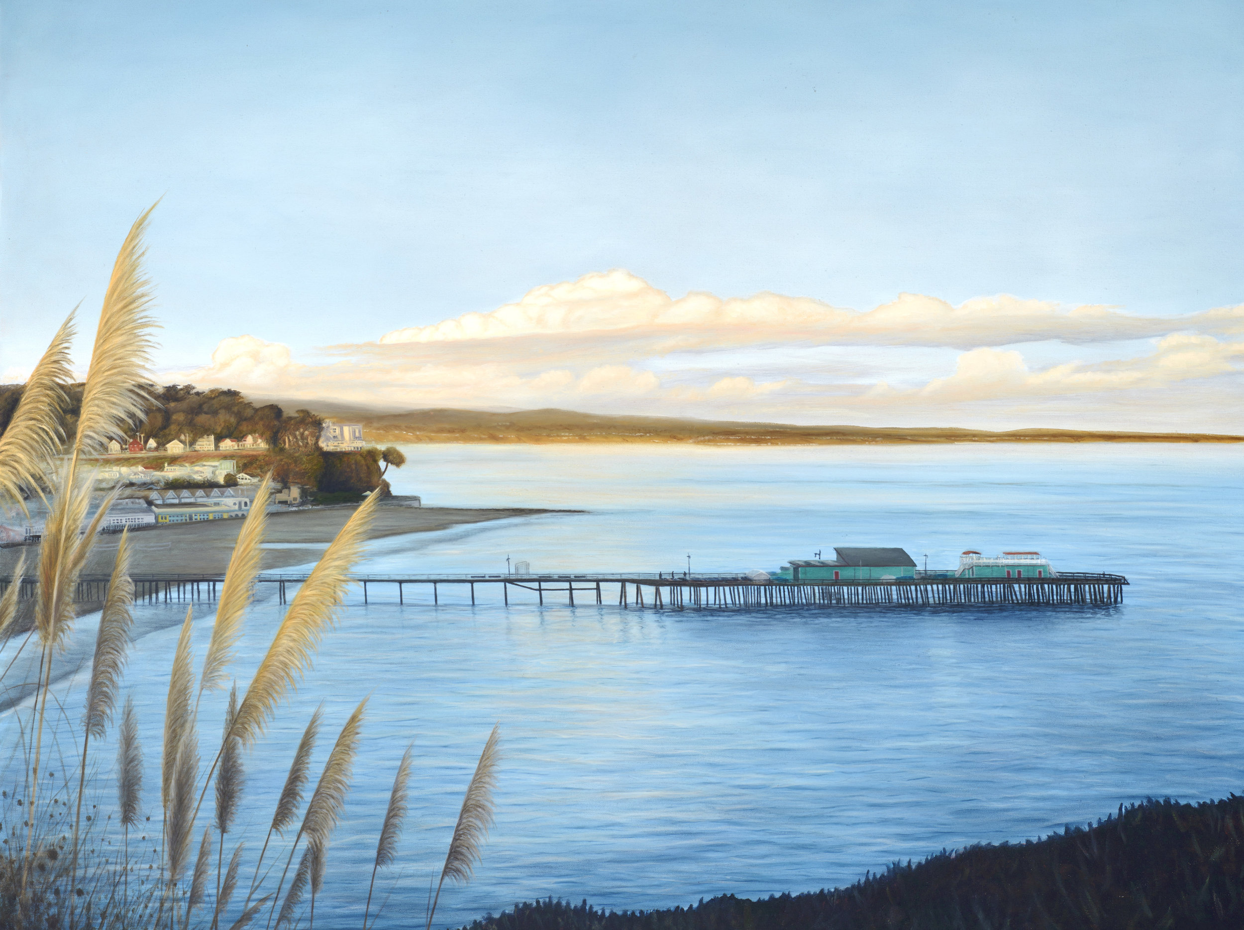 """Capitola""   Oil on Canvas    40""x50""    Original-Sold    Prints Available"