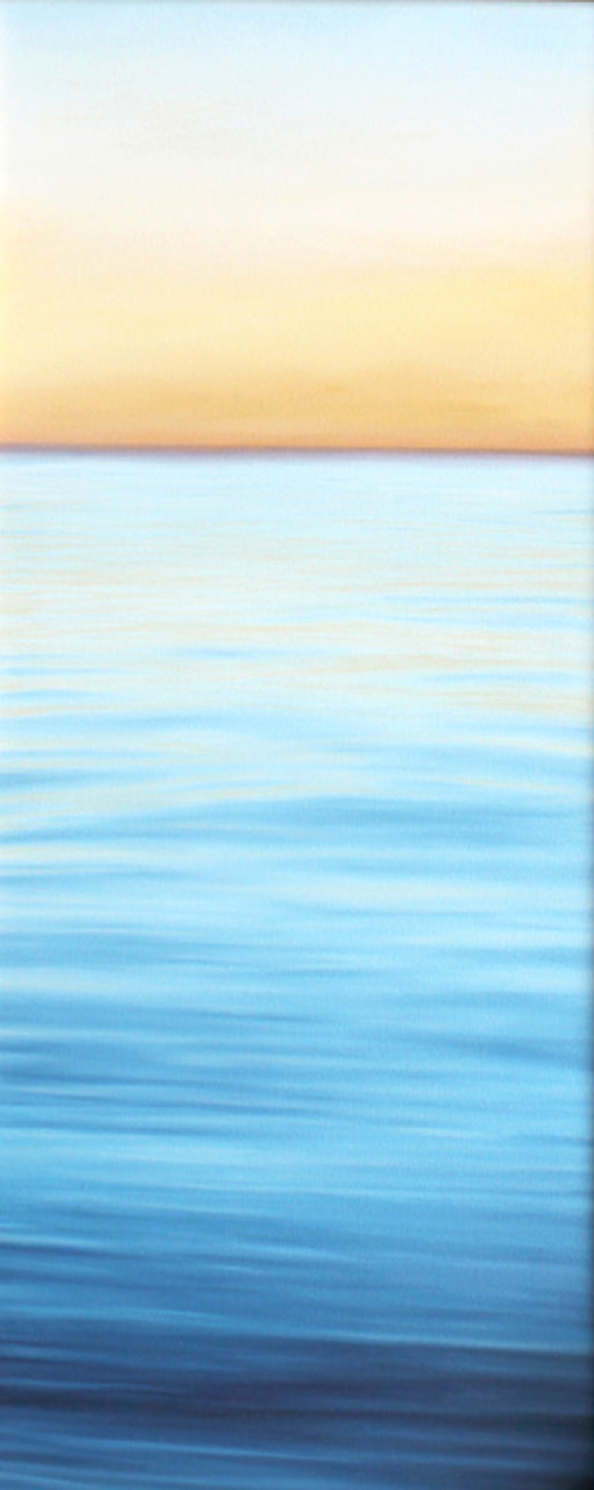 """Evening Paddle""   Oil on Canvas    20""x48""    Original-Available    Prints Available"