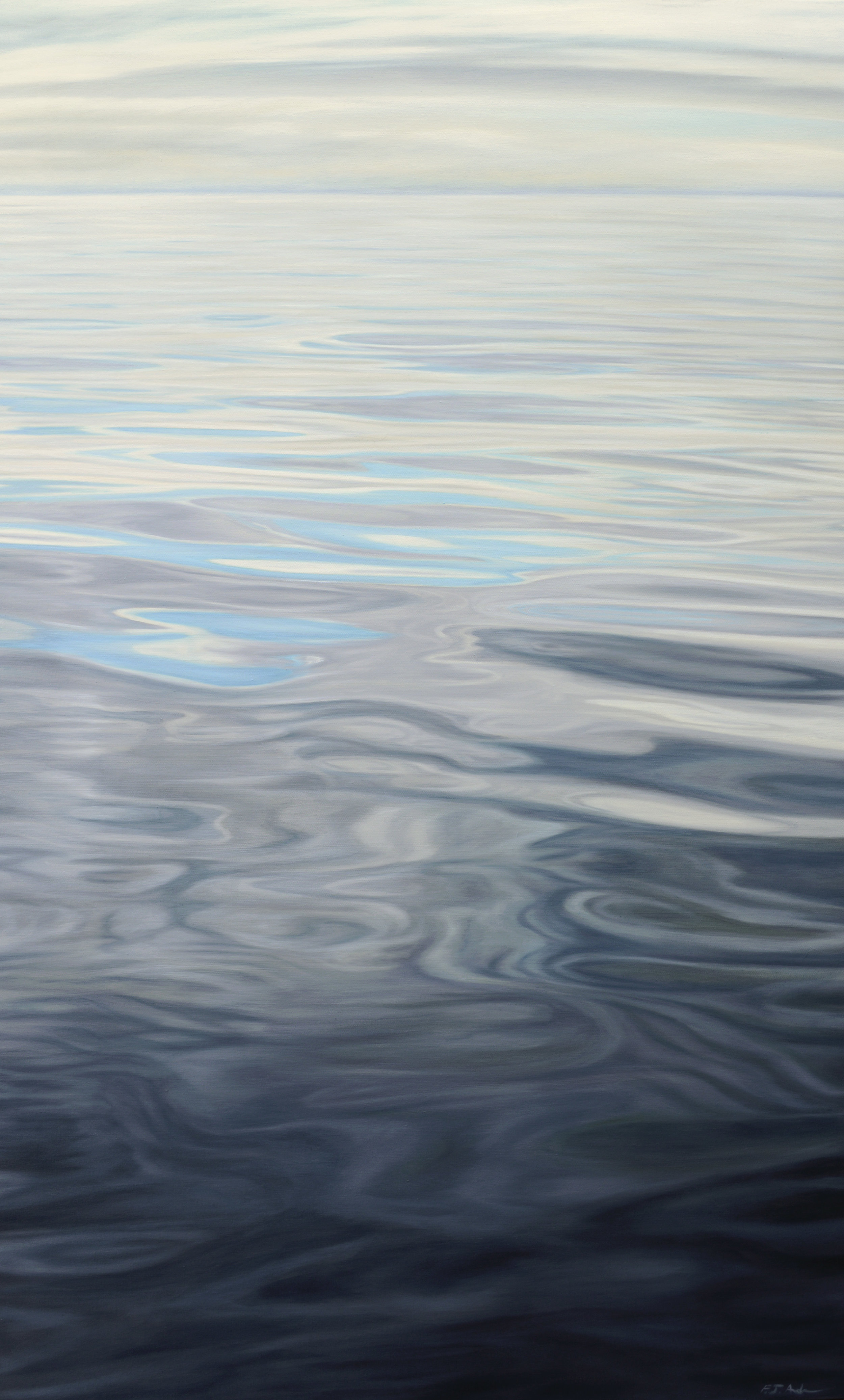 """Oil on Canvas    48""""x26""""    Original-Sold    Prints Available"""