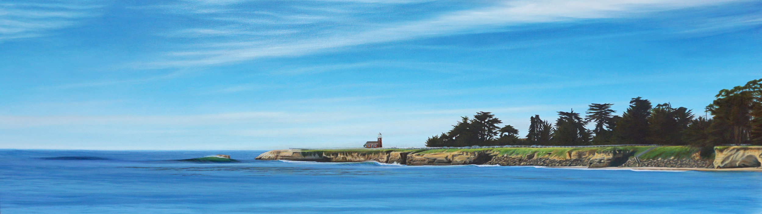 """Oil on Canvas    18""""x60""""    Original-Available    Prints Available"""