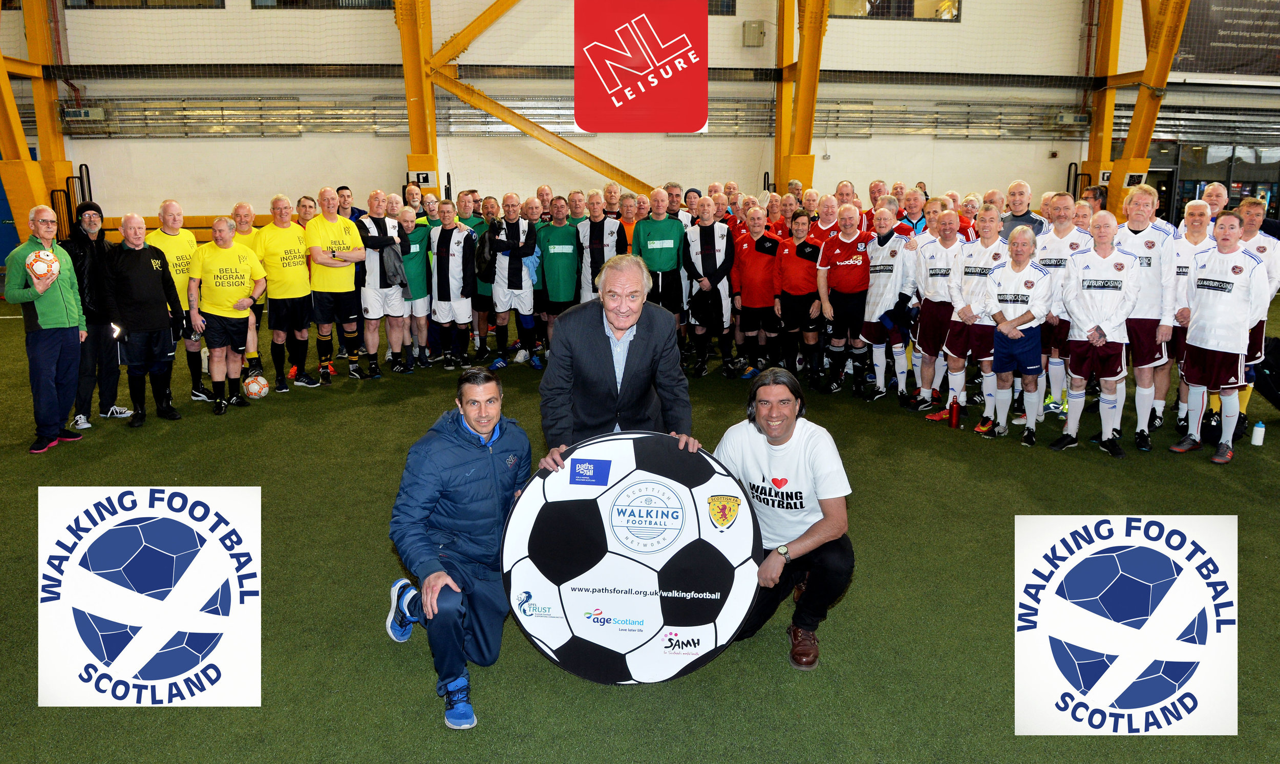 Football Legend David Hay launched the League at Ravenscraig last year.