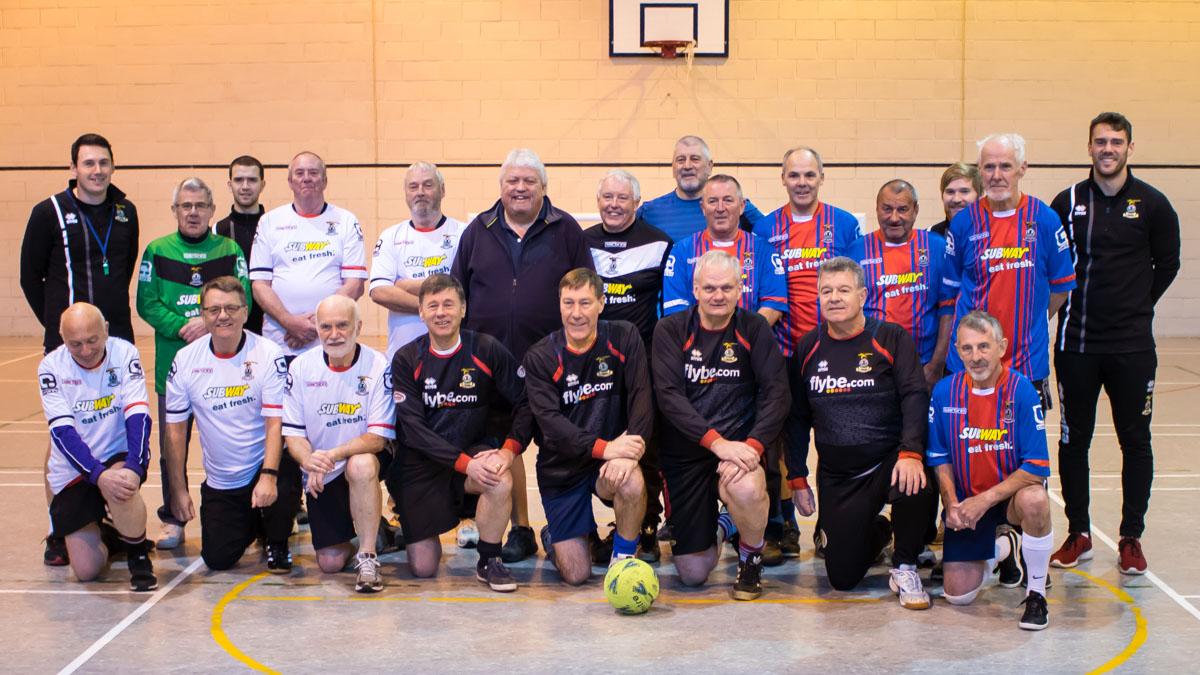 Inverness Caledonian Thistle FC Community Development Walking Football Group