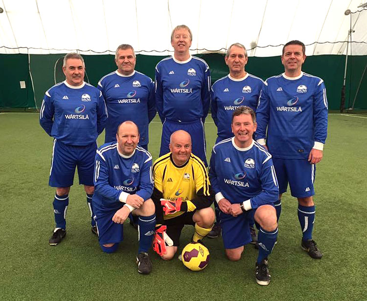 Montrose gents looking for a double win in the Cup