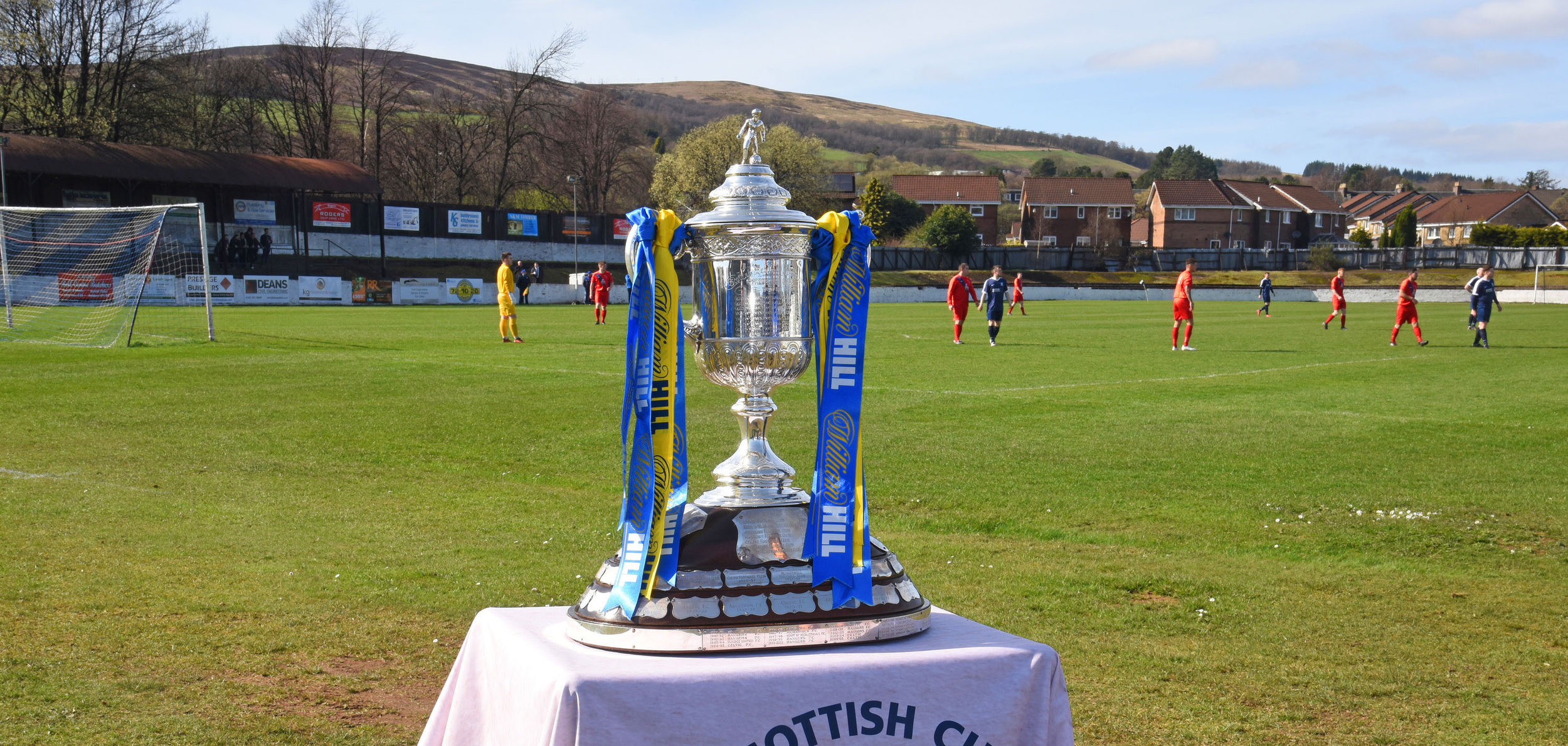 The Scottish Cup returns to Alexandria after a period of 140 years