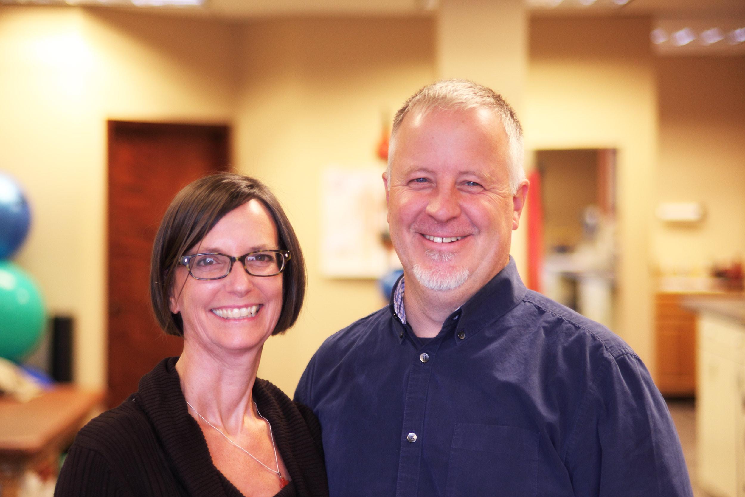Rhonda Pietrowski and Tom Pietrowski, PT