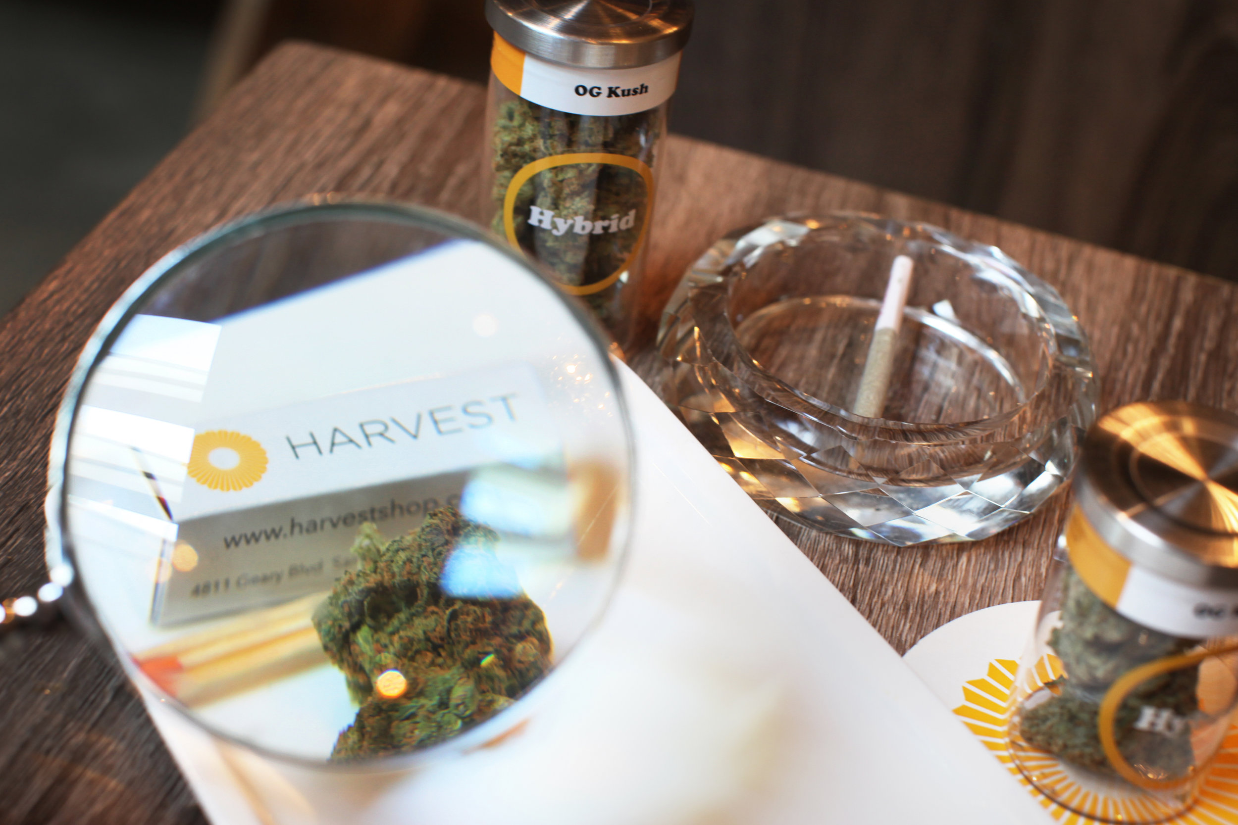 Harvest | San Francisco Recreational Cannabis Dispensary