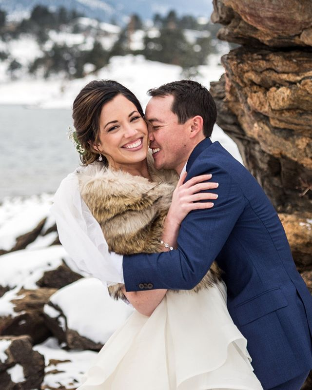 There is nothing, I repeat nothinnnnggggg, more vicious than an attack by cold nose. Way to stay strong Sara!⠀⠀⠀⠀⠀⠀⠀⠀⠀ Glam:@bellacapelliweddings⠀⠀⠀⠀⠀⠀⠀⠀⠀ Dress:@misshayleypaige ⠀⠀⠀⠀⠀⠀⠀⠀⠀ Ceremony:@blackcanyoninnweddings⠀⠀⠀⠀⠀⠀⠀⠀⠀ Reception:@maryslakelodge⠀⠀⠀⠀⠀⠀⠀⠀⠀ DJ: @dj.connection⠀⠀⠀⠀⠀⠀⠀⠀⠀ Dessert:@thedessertstand⠀⠀⠀⠀⠀⠀⠀⠀⠀ .⠀⠀⠀⠀⠀⠀⠀⠀⠀⠀⠀⠀⠀⠀⠀⠀⠀⠀ .⠀⠀⠀⠀⠀⠀⠀⠀⠀⠀⠀⠀⠀⠀⠀⠀⠀⠀ .⠀⠀⠀⠀⠀⠀⠀⠀⠀⠀⠀⠀⠀⠀⠀⠀⠀⠀ .⠀⠀⠀⠀⠀⠀⠀⠀⠀⠀⠀⠀⠀⠀⠀⠀⠀⠀ .⠀⠀⠀⠀⠀⠀⠀⠀⠀⠀⠀⠀⠀⠀⠀⠀⠀⠀ #nowbooking #weddingphotography #weddingphotographer #shesaidyes #awards #couplegoals #engagementsession #gettinghitched #futuremrandmrs #brideandgroom #authenticlovemag #howheasked #engagedlife #estesparkwedding #coloradowedding #rockymountainbride #estespark #estesparkweddingphotographer #coloradobride #mountainbride #coloradoengagementphotographer #theknot #soloverly #estesparkbride #dreamteamepwa #coloradoportraits #greenweddingshoes #bridetobe2020