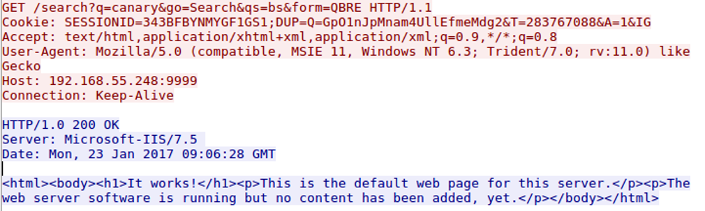 An example of an HTTP request and response from a C2 server. Source: https://bluescreenofjeff.com/2017-03-01-how-to-make-communication-profiles-for-empire/
