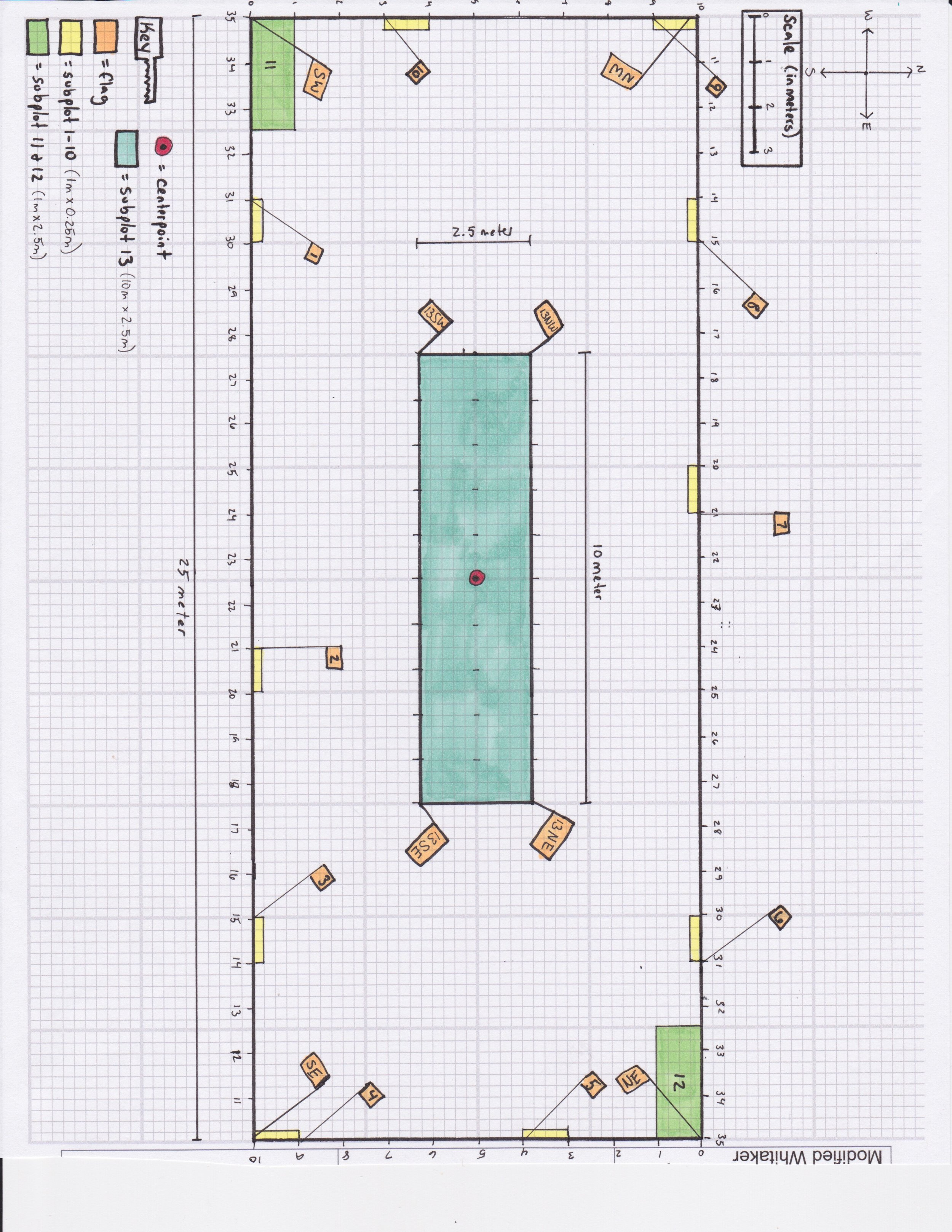 How to Build a Modified Whittaker Plot - For PLANT BIODIVERSITY survey