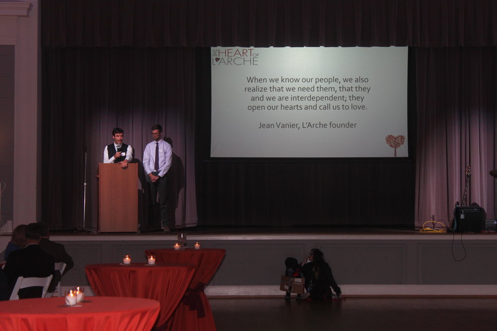 Mic and Luca share about the heart of our community.