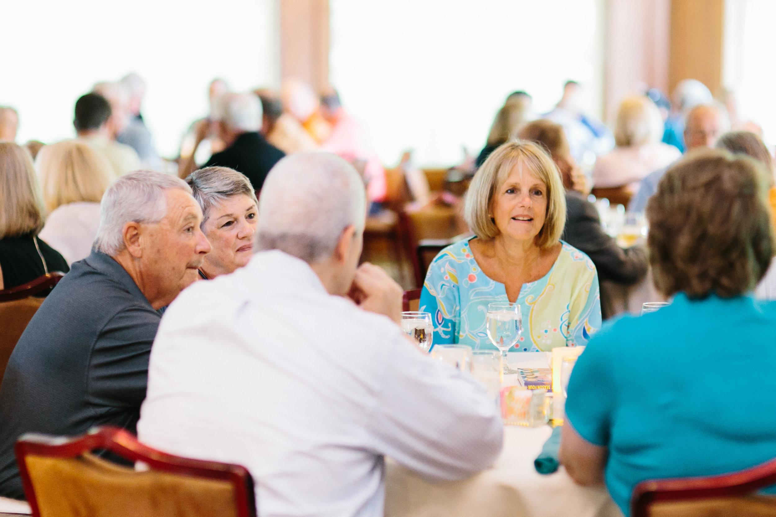 Attendees enjoying the Awards Dinner