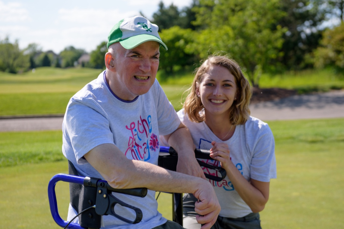 Sarah and John at 2019 Golf Outing