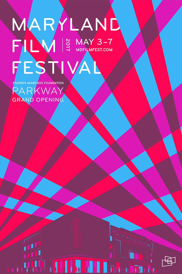 The Annual Festival  - Since 2011, we've worked with MdFF to design the look of the annual Maryland Film Festival. View our posters and campaigns from 2014, 2015, 2016, &2017.