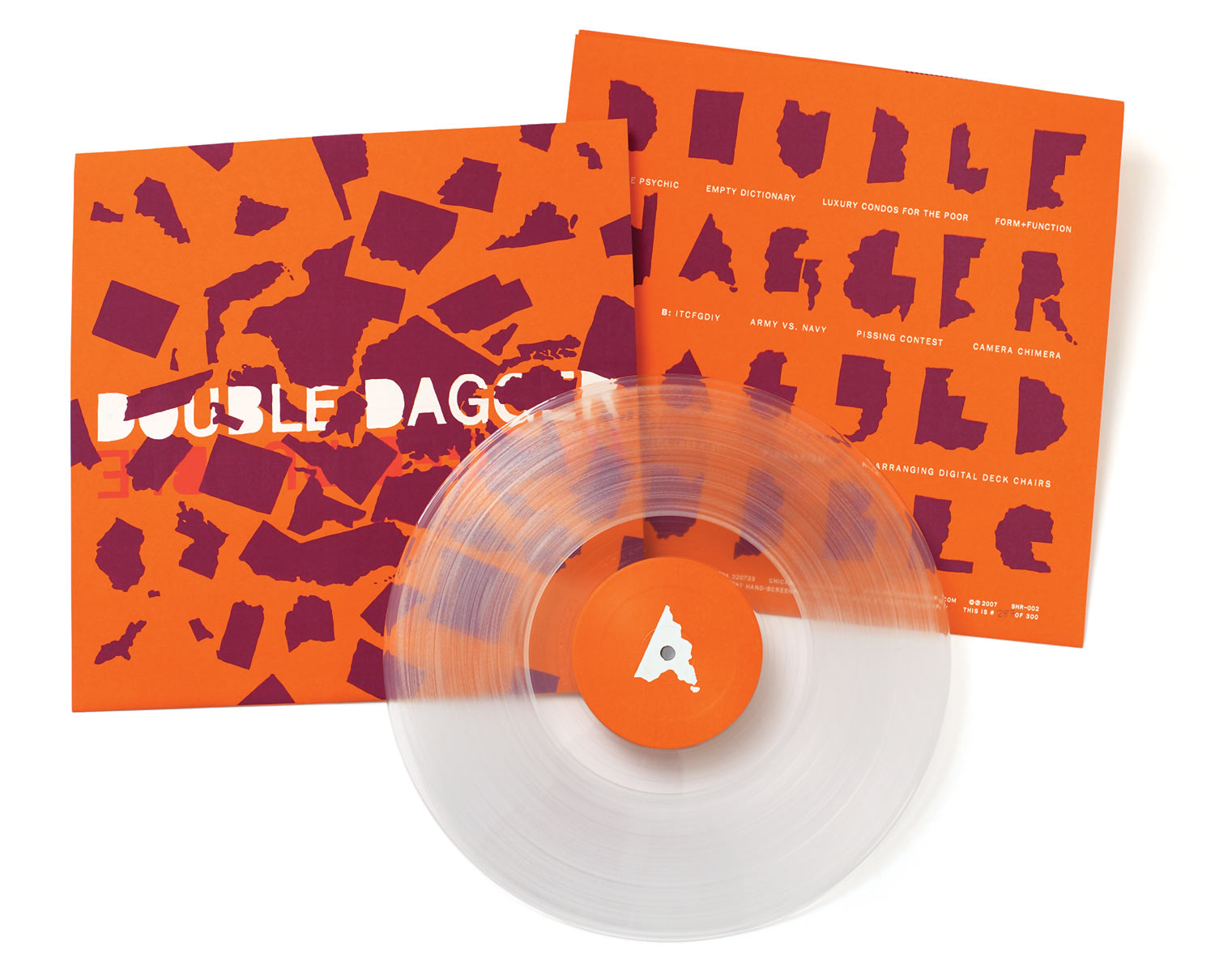 The LP is out of print, but doesn't it look cool?