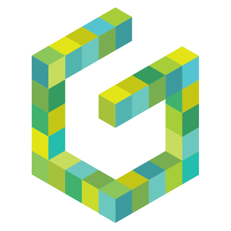 Building a Diverse Movement - We constructed our brand design for Greenbuild 2010 from colorful cubes that suggest structures and building blocks. A series of eye-catching illustrations express the convergence of the green building movement at Greenbuild.