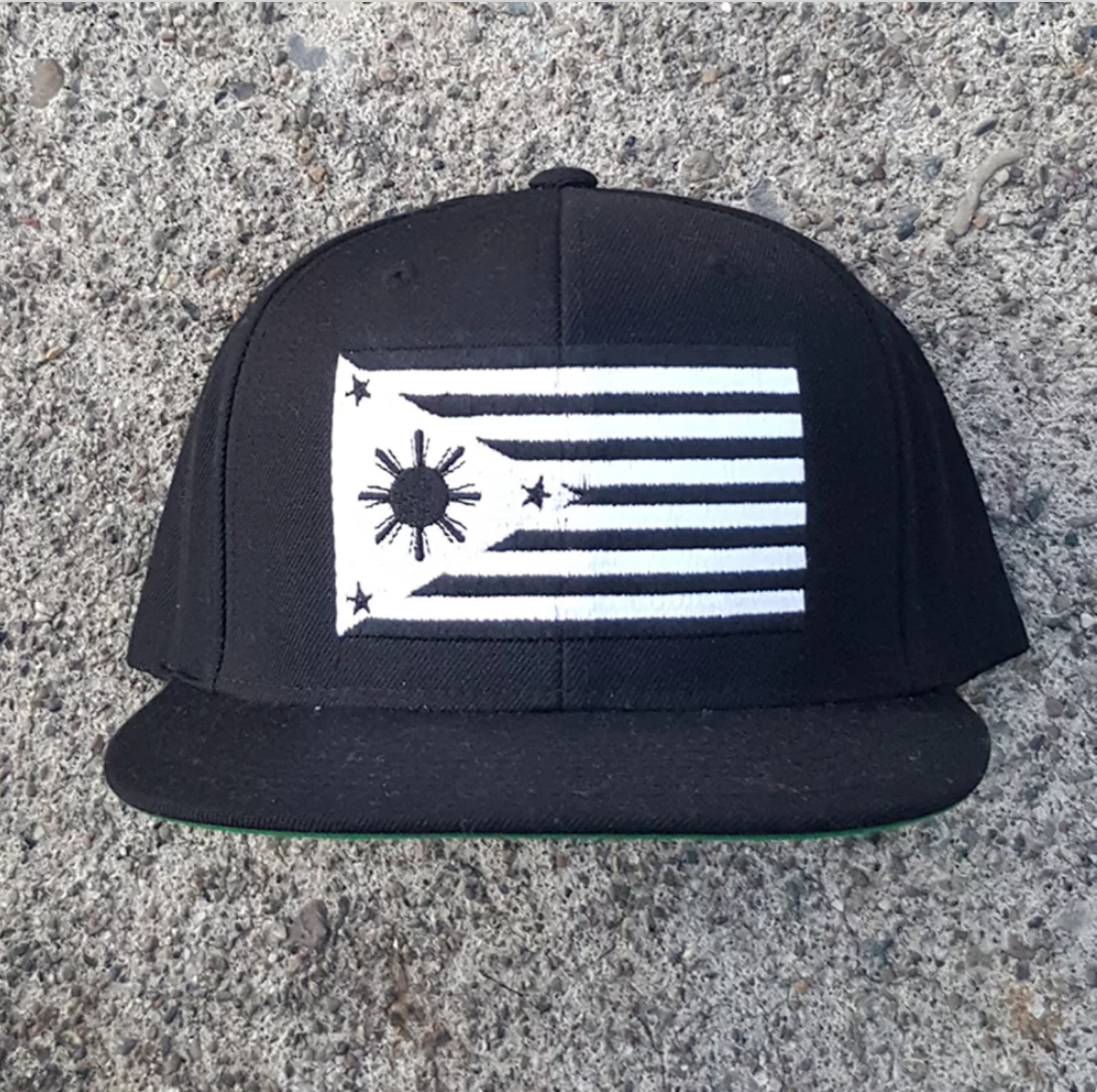 Henny _ Lumpia - $28 Fil-Am Flag Hat.png