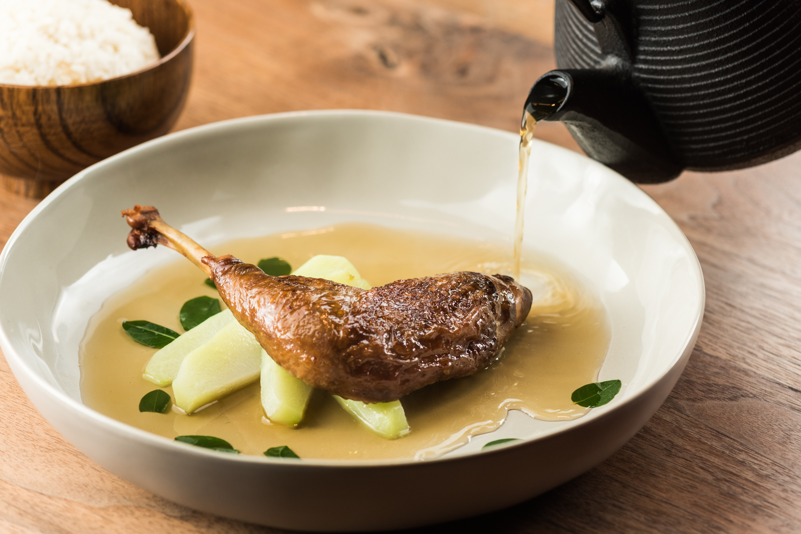 Copy of Copy of Tinola Soy Roasted Guinea Hen