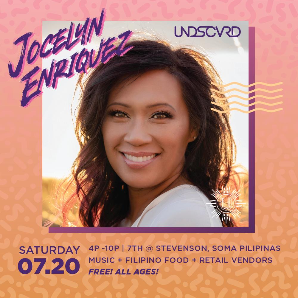 Undiscovered July 2019 Jocelyn Enriquez